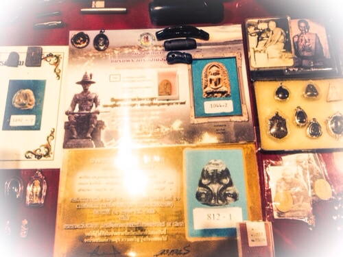 Certificated prizewinner amulets in our showcase