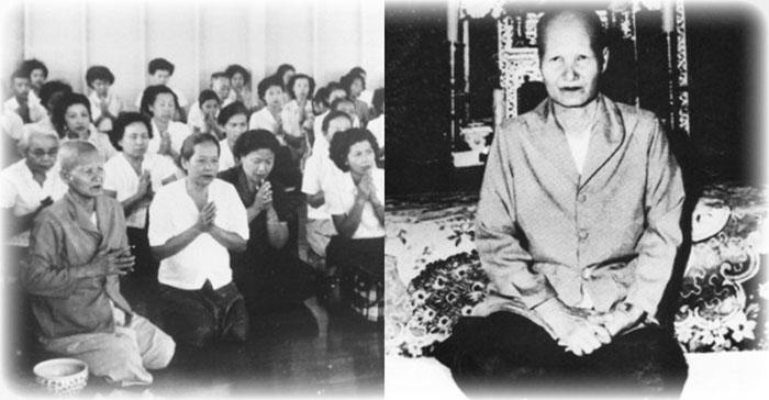 Mae Chee Bun Ruean Thai Buddhist Nun