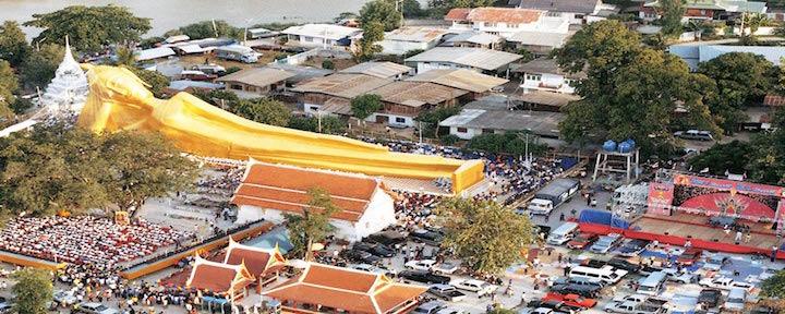 Sayasana Buddha Luang Por Dto at Wat Sadter