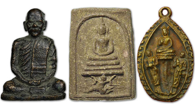 The Amulets of Luang Por Chaeng Wat Bang Pang