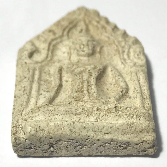 Khun Phaen Kru Tap Khaw 200 Year OId Hiding Place Amulet of Somdej Dto