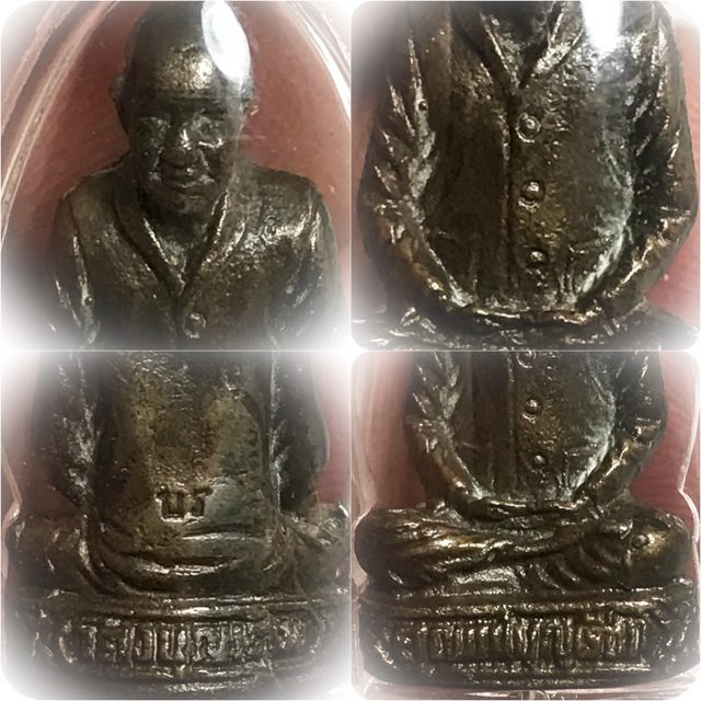 Close Ups of the Mae Chee Bun Ruean Loi Ongk Statuette
